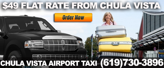 Airport Taxi Cab In Chula Vista